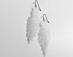 Retro Earrings 3D printable model