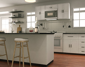 scene 3D model Kitchen