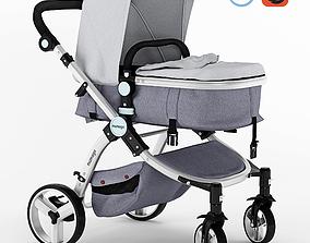 Mamago Platinum Baby Strollers 3D