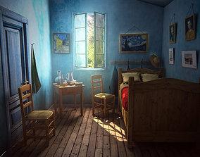 van Gogh bedroom 3D asset