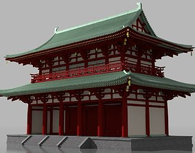 3D model Chinese Traditional Building