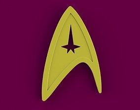 Starfleet Command Emblem 3D printable model