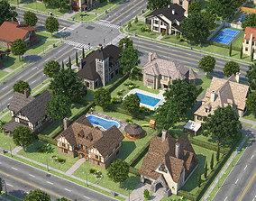 City Town 2 3D asset