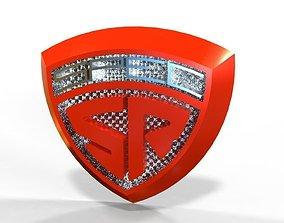 Logo crest sr 3D