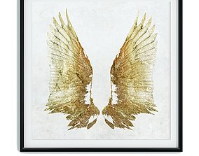 3D asset Painting frame Canvas art 023