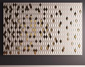 3D model Wall panel 002