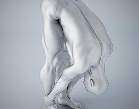 Man yoga 016 3D print model