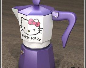 3D model Hello Kitty moka 1