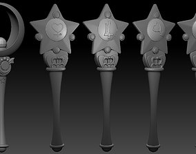 Sailor scouts scepters From the Inner 3D printable model 1