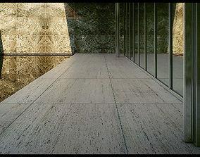 Mies Van Der Rohe Barcelona Pavilion - Third - animated 2