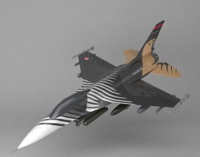 F16 Solo Turk 3D asset