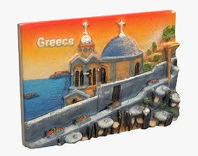 Greece Magnet Souvenir 2 3D printable model