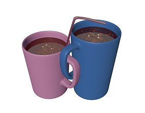 Cups dav 3D