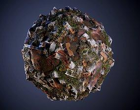 Wasteland Seamless PBR Texture 3D model
