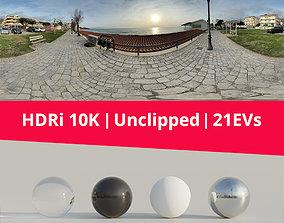 3D model HDRi - Beachfront and Sunset
