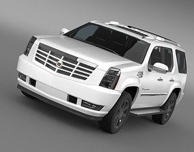 3D model Cadillac Escalade 2010