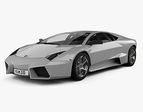 3D Lamborghini Reventon with HQ interior 2009