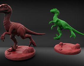 3D print model Raptor with holder
