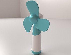 Electric Hand Fan 3D