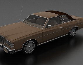 3D model LTD Brougham 2dr 1975