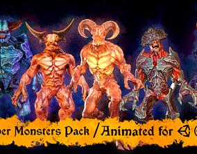 3D Super Monster pack