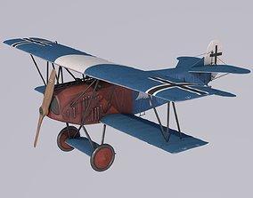 Fokker DVII Berthold 3D
