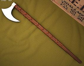 3D Norse Viking Axe