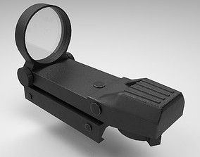 Coyote Sight - Red Dot - Weapon Attachment - 3D model 3