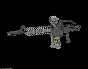 Custom Design RX78 gundam rifle for 144 scale model