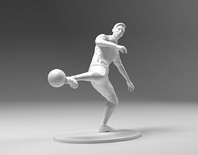 3D printable model Footballer 03 Footstrike 04 Stl