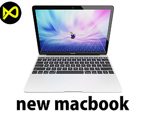 3D model The New MacBook 12-inch 2015-2016