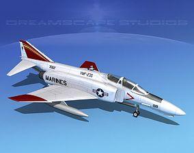 3D model McDonnell Douglas F-4J Phantom II V14 USMC