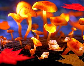 3D model Magic mushrooms