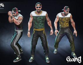 Male Gang 06 3D model