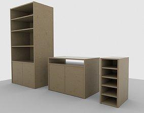 3D Simple Shelves