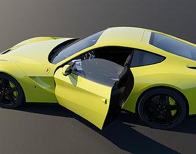 Ferrari sport car PBR 3D model