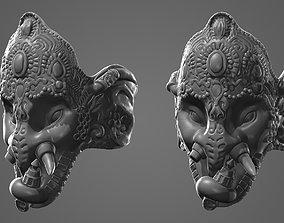 Ganesh Elephant 3d Print Ready Model