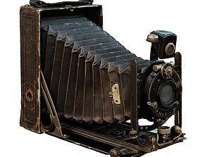 Old Camera CP Goerz Tenax Tenastigmat lens 3D model