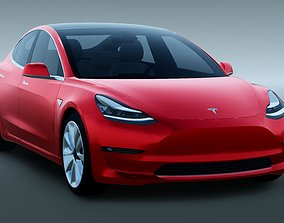 Tesla Model 3 2018 vehicle