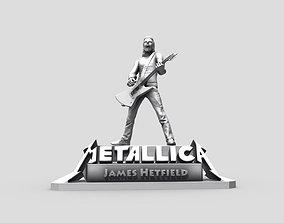 James Hetfield - Metallica 3D printing