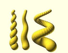 3D printable model Twisted Spiral Horn Generator