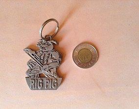 3D print model Rig Pig Oil Rig worker
