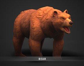 3D asset Fantasy Bear