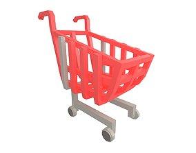 Shopping Cart v1 001 3D model