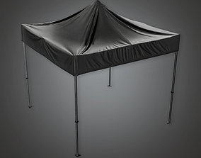 Outdoor Standup Tent HLW - PBR Game Ready 3D asset