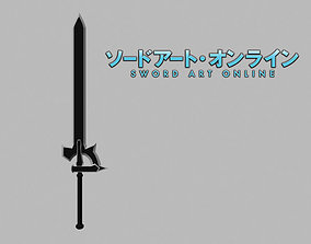 Elucidator Kirito SAO 3D model