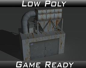 3D model Industrial Extractor