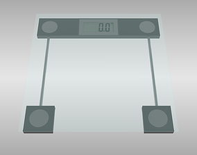 3D model Bathroom scale