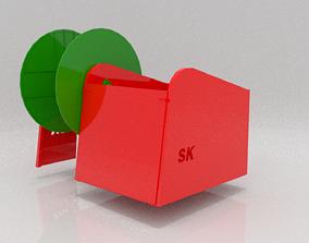3D asset Slurry Reeler
