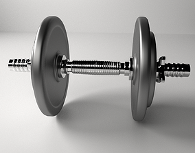 3D model gym Dumbbell